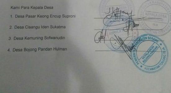 Empat Kades di Banten Diduga Menyalahgunakan Wewenang