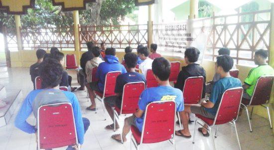 Gelar Sosialisasi dan Tatap Muka Pendidikan Pemilih KPU Kep. Selayar, Sasar Generasi Muda Bontobangung