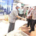 Peletakan Batu Pertama Masjid Polres Metro Bekasi Kota di Gedung Baru