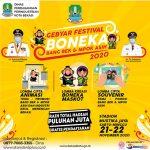 Gebyar Festival Boneka Bertema Maskot Bang Bek dan Mpo Asi Bakal Digelar