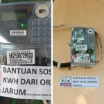 Ormas Jarum Bantu Pemasangan KWH Meter Ponpes dan Warga Tidak Mampu di Kecamatan Lewidamar
