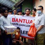 PKS Bantu Korban Banjir Lebak
