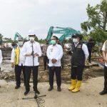 Presiden Jokowi Targetkan Perbaikan Tanggul Citarum Selesai Dua Hari