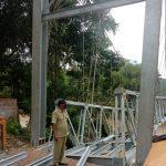 Pembangunan Jembatan Suakan Diduga Gagal Kontruksi, DPRD Akan Panggil DPUPR Lebak