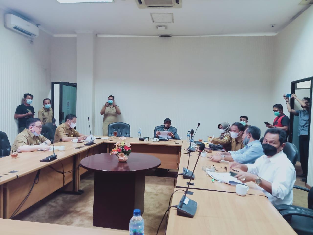 Komisi III DPRD Kabupaten Bekasi Gelar Rapat Tanggap Darurat Penanggulangan Bencana