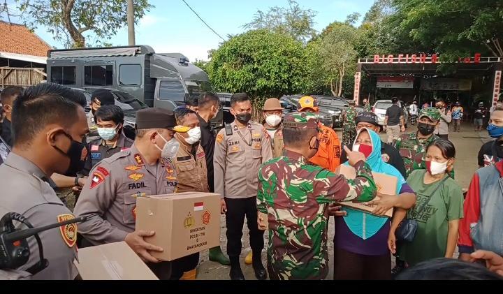Kapolda Metro Jaya Tinjau Langsung Lokasi Jebolnya Kali Citarum