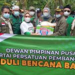 DPP PPP Berikan Bantuan untuk Korban Banjir, di Dua Kecamatan di Kabupaten Bekasi