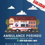 Partai Perindo Lebak Siapkan Ambulance Warga 24 Jam