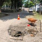 Warga Keluhkan Ruas Jalan TB. Hasan Ciseke- Cimesir Bolak-balik Diperbaiki tapi Rusak Lagi