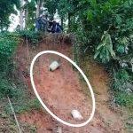 Akses Jalan Lewati Jurang, Dropping Material Menuju Lokasi Proyek P3-TGAI