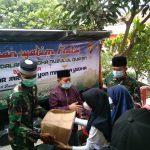 Jum'at berkah Nuzulul Qur'an Ormas Jarum Bersama Batalyon Mandala Yudha Santuni Anak Yatim