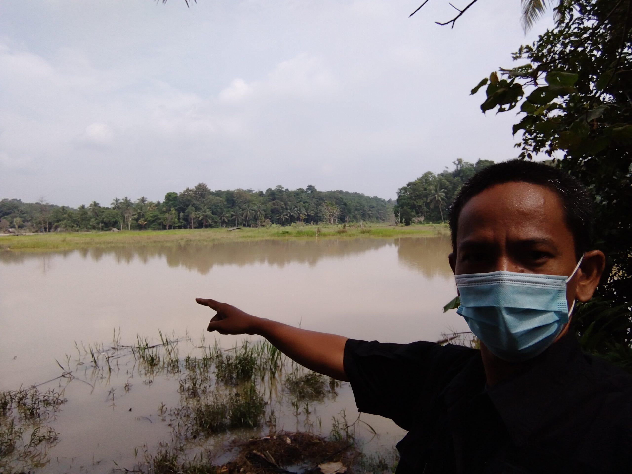 Puluhan Hektar Sawah Tidak Bisa Digarap, Petani Minta Pemkab Lebak Memikirkan Nasibnya
