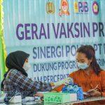 Dukung Program Vaksinasi COVID-19 PJB UP Muara Tawar Gandeng Ditpolairud Polda Metro Jaya