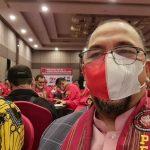 Heri Koswara Hadiri Milad II Pemuda Batak Bersatu Kota Bekasi
