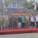 Bupati Lebak Hadiri Olahraga Bersama yang Digelar Batalyon Mandala Yudha